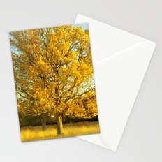 Yellow II Stationery Cards