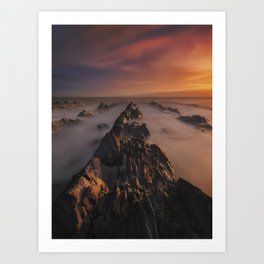 New Day Has Come Art Print