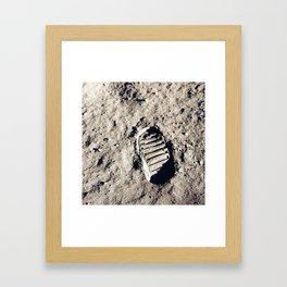 One Giant Leap For Mankind Framed Art Print