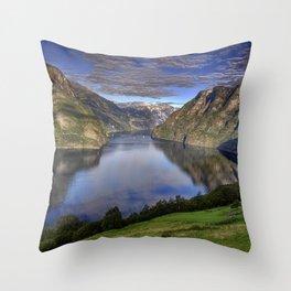Sognefjorden - Norway Throw Pillow