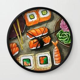 Sushi & Rolls Wall Clock