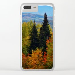 Mont Albert From Afar Clear iPhone Case