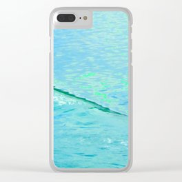 Eddy In The Wake Clear iPhone Case