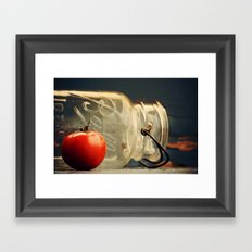 Canning Day Framed Art Print