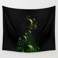 breaking Wall Tapestries featuring Breaking Fears by Sachpica