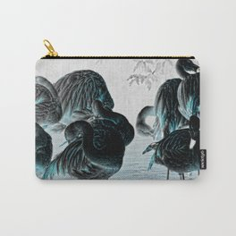 Exotic Flamingos Carry-All Pouch
