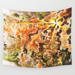 Degenerated Motion Wall Tapestry