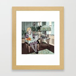 Believe It or Not! Spontaneous Combustion Framed Art Print