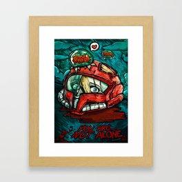 Dead Heroes - Samus Framed Art Print