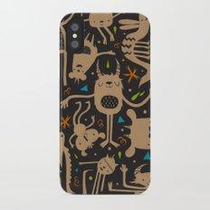 Topsy Turvy - Dark iPhone X Slim Case