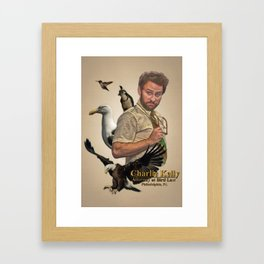 Charlie Kelly: Attorney at Bird Law - Always Sunny - Fan Art Framed Art Print