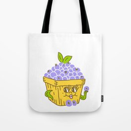 Lady Bluebs Tote Bag