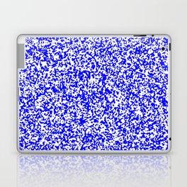 Tiny Spots - White and Blue Laptop & iPad Skin