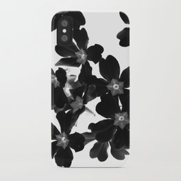 Primrose In BW iPhone Case