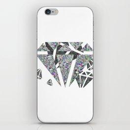 Dead diamonds iPhone Skin