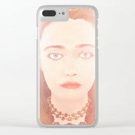 The Witcher Russia: Inanna Clear iPhone Case