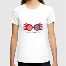 Spectrespects Womens Fitted Tee White MEDIUM