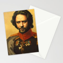 Russell Crowe - replaceface Stationery Cards