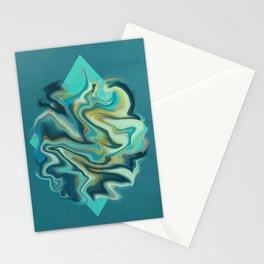 Geometry Smoke Stationery Cards