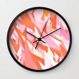 Morning Fire Wall Clock