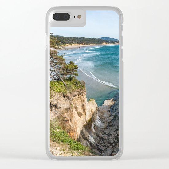 Secret Cove Clear iPhone Case