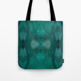 Patterns III Teal Tote Bag
