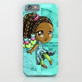 Happy African American Girl iPhone Case