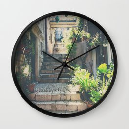the prettiest of stairs ... Wall Clock