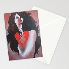 Naked Heart Stationery Cards
