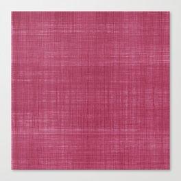 Tissu d'écorce Rose Canvas Print