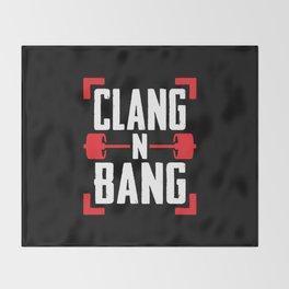 Clang N Bang Throw Blanket