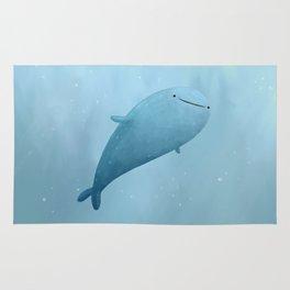 Cute Whale Shark Rug