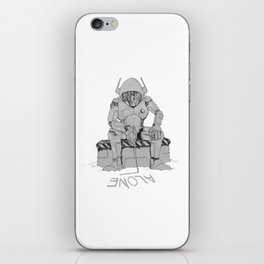 SPACE COWBOY : WE ARE ALONE iPhone Skin