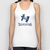 nfl Tank Tops featuring Tennessee Tie Fighters - NFL by Steven Klock