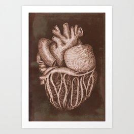 cordis matris Art Print