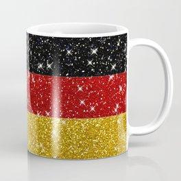 Glitters Germany Flag with Sparkles Coffee Mug