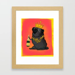 Pugz Life Framed Art Print