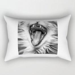 Cat Roar! Rectangular Pillow