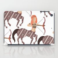 archer iPad Cases featuring ARCHER by Kiley Victoria