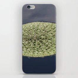 Crinkle Lily Pad iPhone Skin