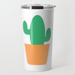 Just a Little Cactus Travel Mug