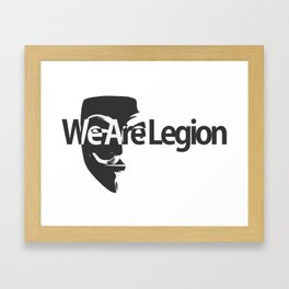 Legion Framed Art Print