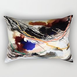 Day 59: Living with disturbances rather than against them. Rectangular Pillow