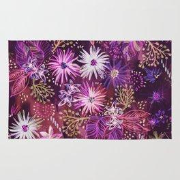 Eden Floral Purple Rug