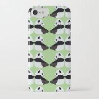 pandas iPhone & iPod Cases featuring Pandas by Alexandra Baker