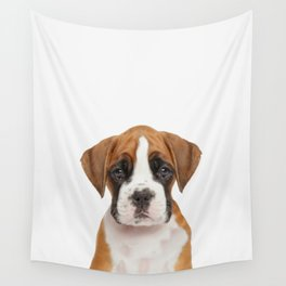 German Boxer Puppy Wall Tapestry