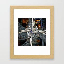 """""""...echo like memory / words..."""" Framed Art Print"""