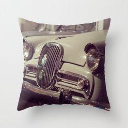 1966 Car Showroom Throw Pillow