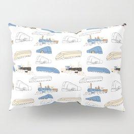 Trains Pillow Sham