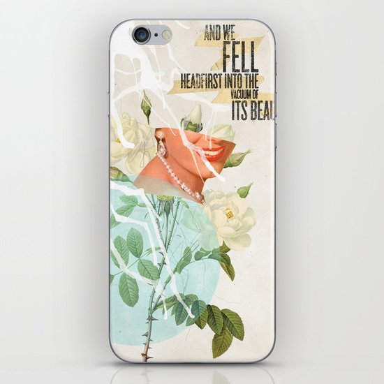 The Vacuum of Its Beauty iPhone & iPod Skin